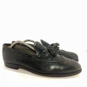 Vintage FootJoy USA Black Loafers Sz 10.5